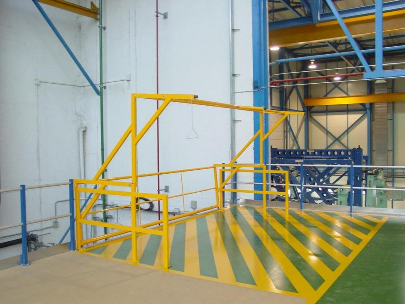 Barreras de seguridad barreras de seguridad industriales - Barrera de seguridad ...